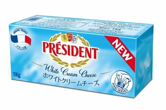 Picture of CREAMCHEESE PRESIDENT 1KG